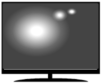 Glare on TV