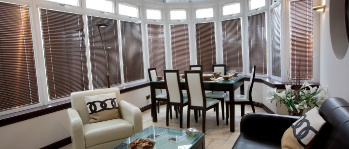Conservatory venetian blinds by Harmony of North London